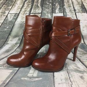 Gianni Bini Leather Booties Size 6.5M